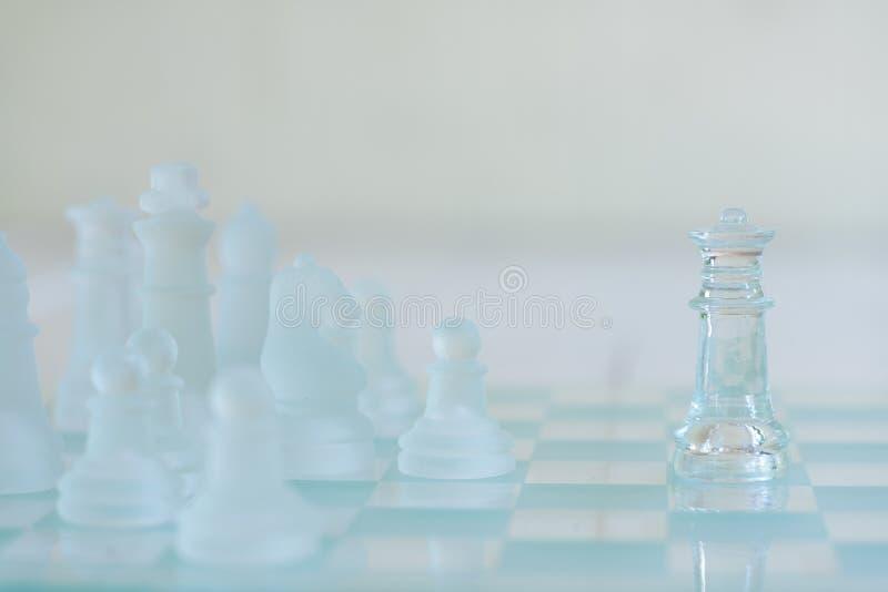 Jogo de mesa da xadrez, conceito competitivo do negócio fotos de stock royalty free
