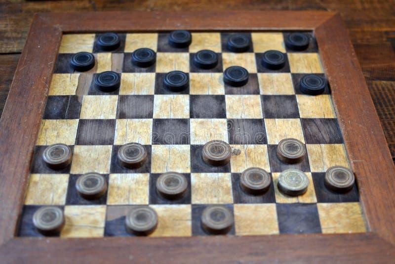 Jogo de tabuleiro Conceito de estratégia, vitória, inteligência, defesa, ataque imagem de stock royalty free
