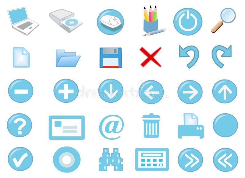 jogo do ícone 3d ilustração royalty free