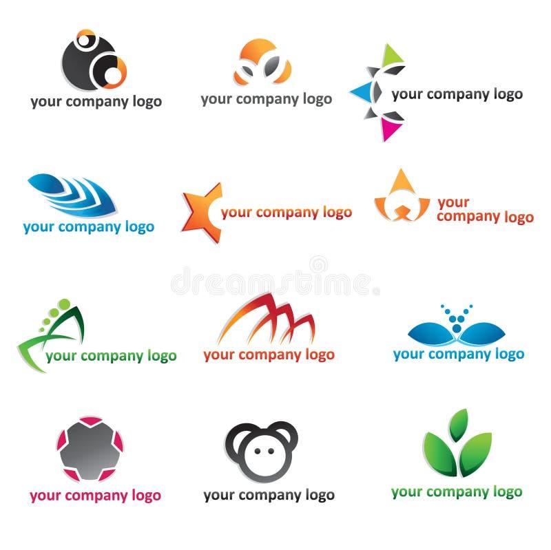 Jogo do ícone do logotipo 2d
