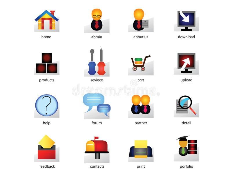 Jogo do ícone do Web