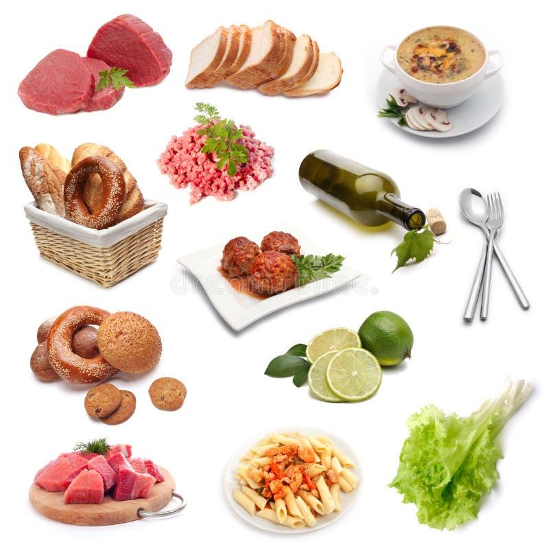 Jogo do alimento imagens de stock