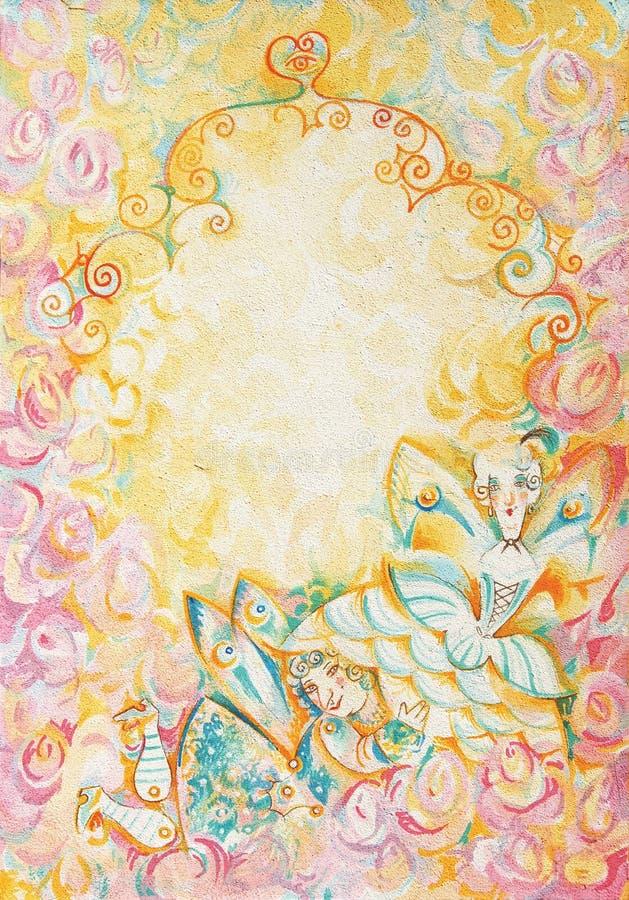Jogo do amor ilustração royalty free