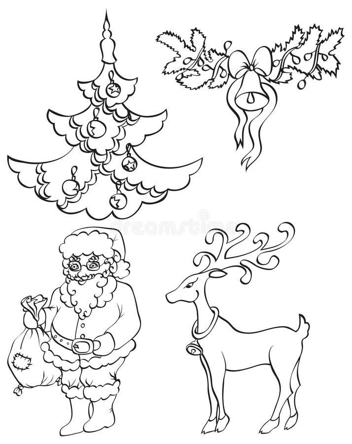 Download Jogo do ano novo ilustração do vetor. Ilustração de divertimento - 16862377