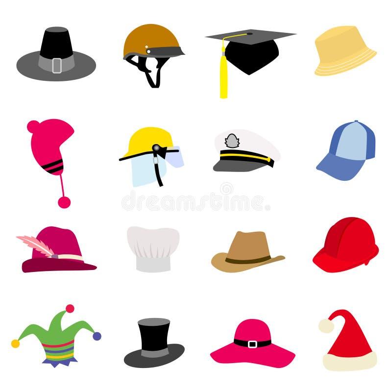 Jogo do chapéu ilustração stock