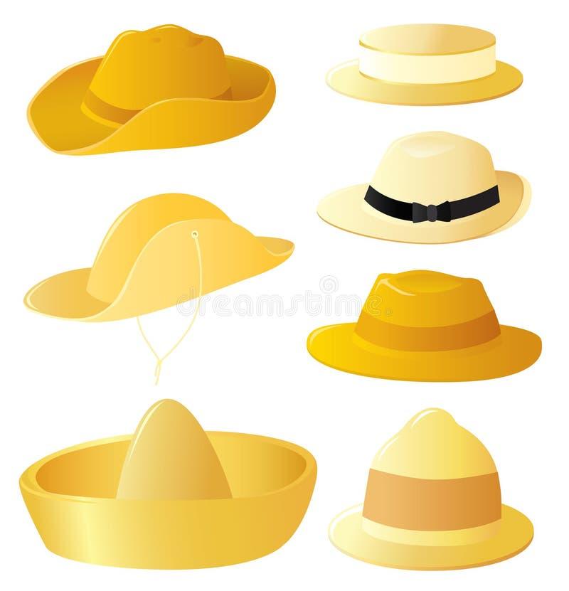 Jogo do chapéu do homem ilustração do vetor