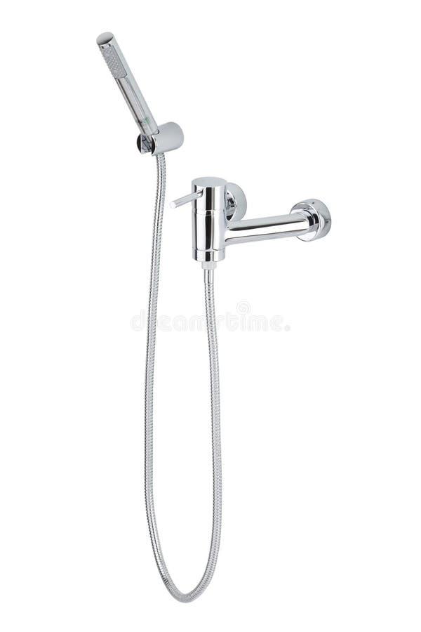 Jogo do chuveiro do banheiro foto de stock royalty free