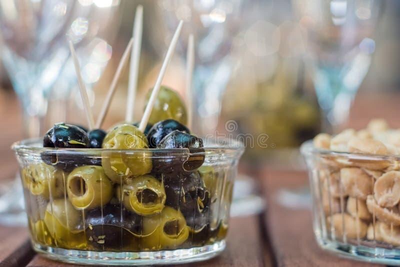Jogo do cocktail do partido fotos de stock