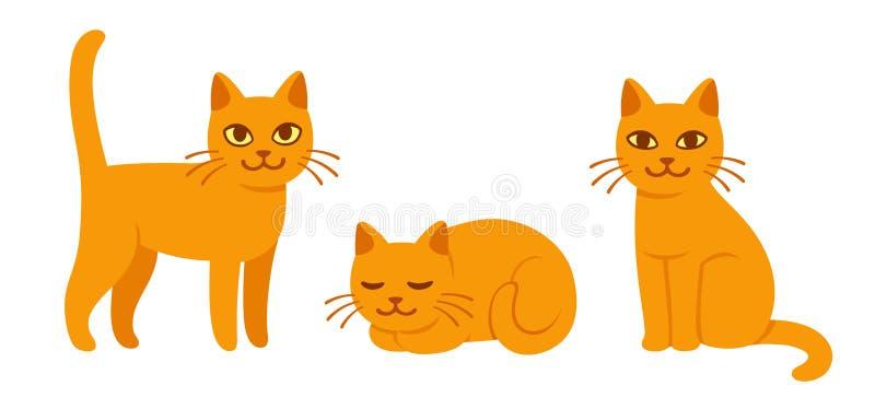 Jogo do gato dos desenhos animados ilustração royalty free