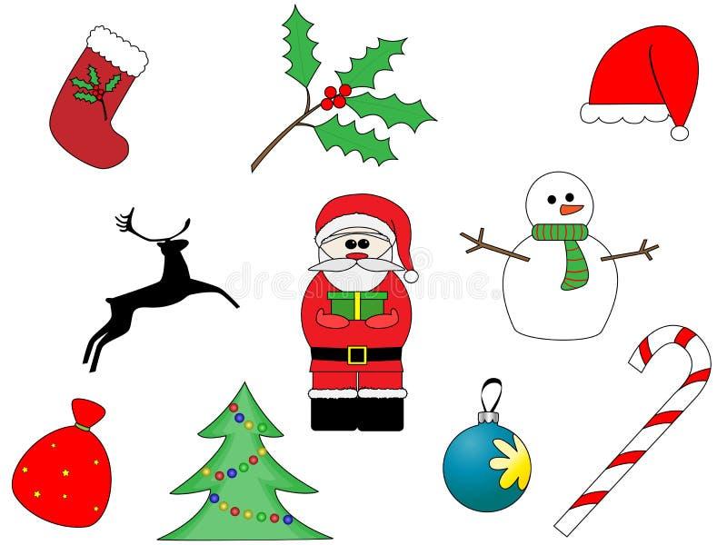 Jogo do Natal ilustração do vetor