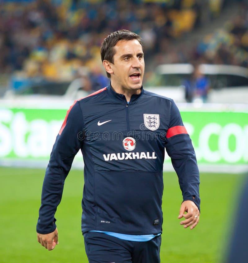Jogo 2014 do qualificador do campeonato do mundo de FIFA Ucrânia v Inglaterra fotos de stock