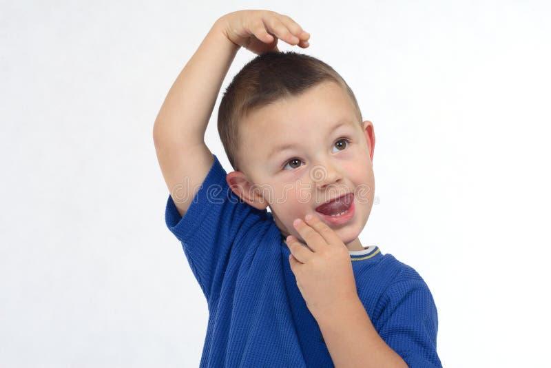 jogo do rapaz pequeno fotos de stock royalty free