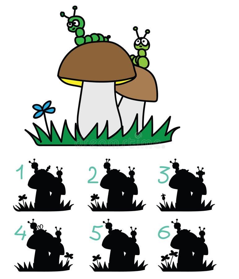 Jogo do ` s das crianças de ilustração stock
