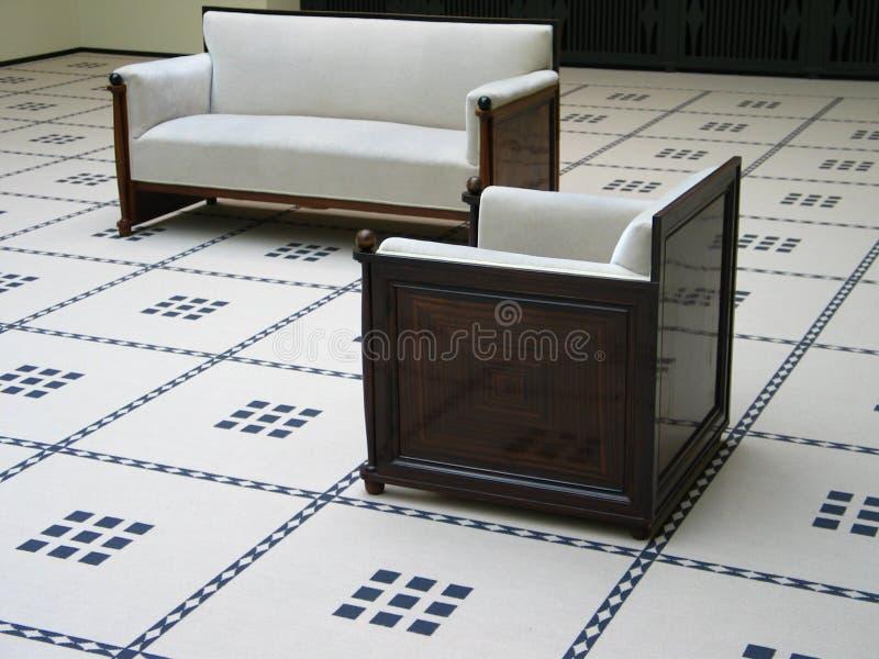Download Jogo do sofá imagem de stock. Imagem de rendido, poltrona - 530189