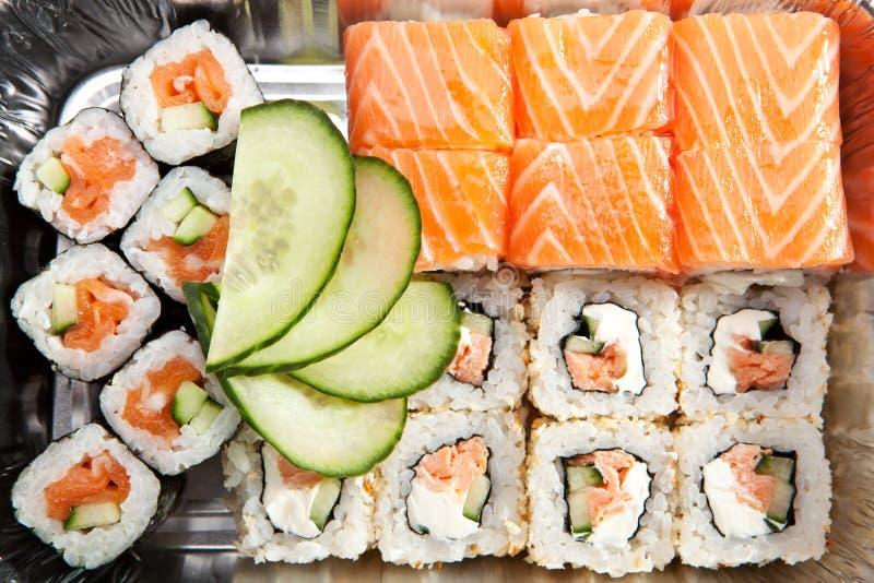 Jogo do sushi fotografia de stock