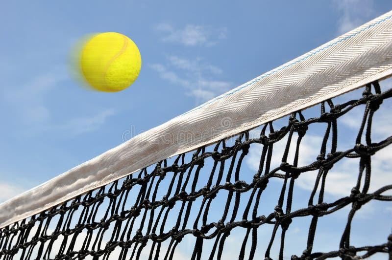 Jogo do tênis imagem de stock