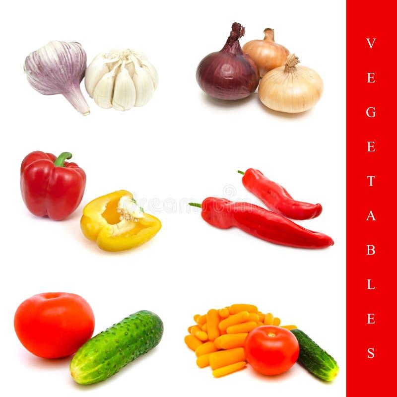 Jogo do vegetal fotografia de stock