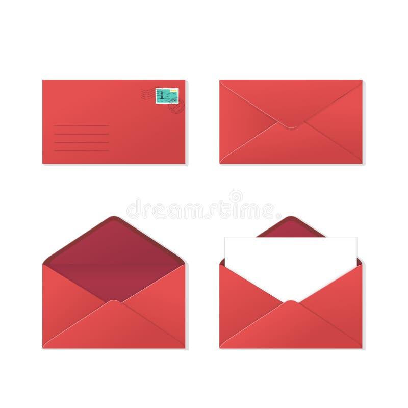 Jogo dos envelopes ilustração royalty free