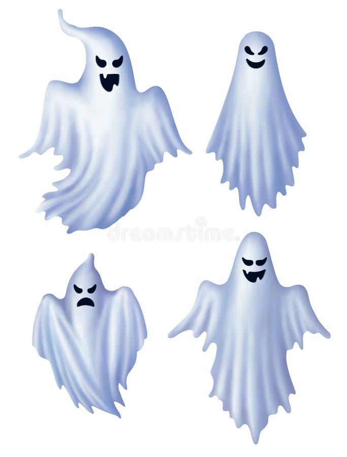Jogo dos fantasmas ilustração stock