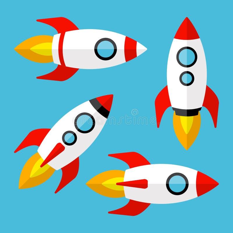 Jogo dos foguetes Ilustração do vetor ilustração do vetor