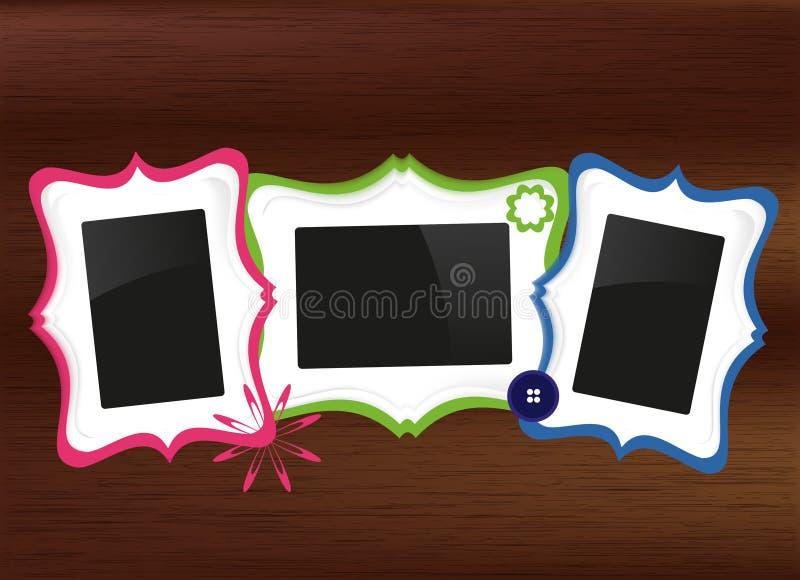 Jogo dos frames ilustração stock