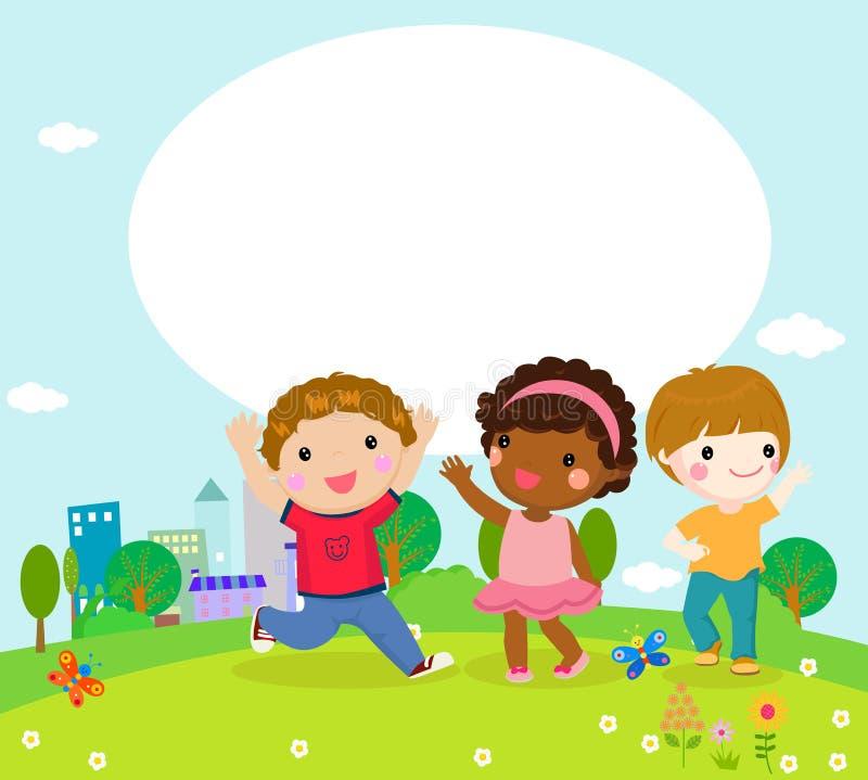 Jogo dos meninos e das meninas ilustração royalty free
