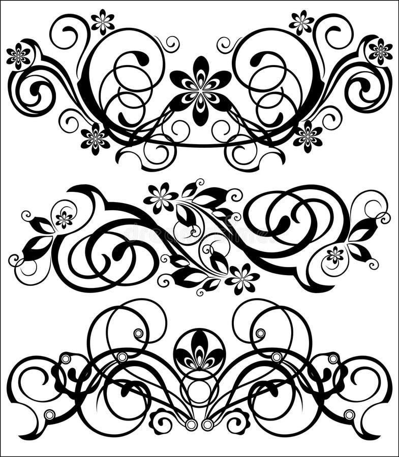 Jogo dos testes padrões ilustração stock