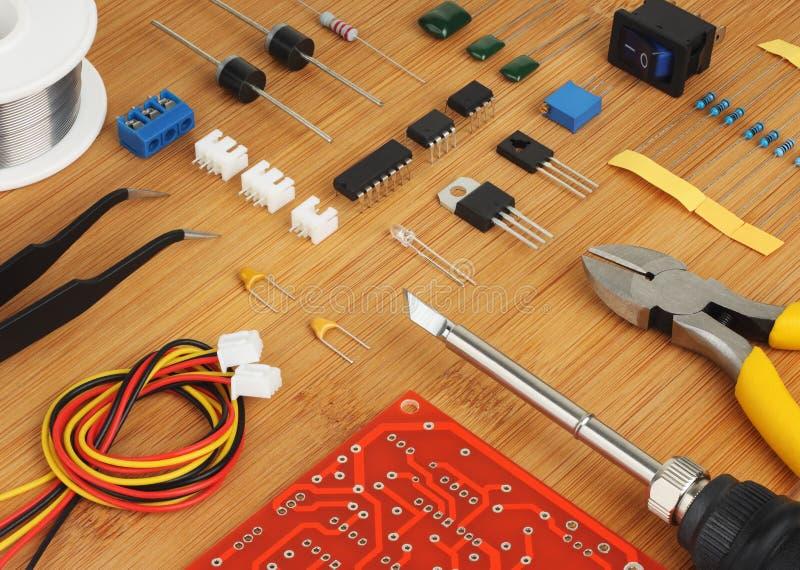 JOGO eletrônico de DIY imagens de stock