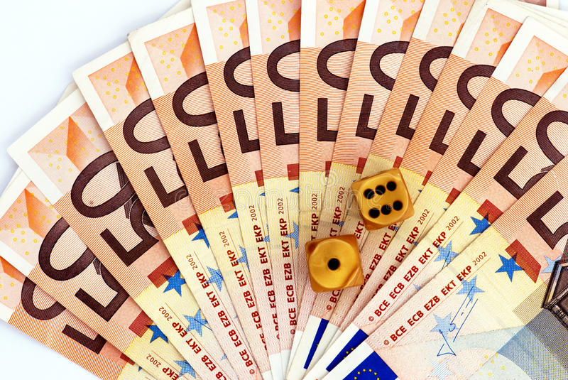 Jogo financeiro fotografia de stock royalty free