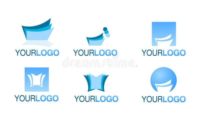 Jogo financeiro editorial do vetor do logotipo ilustração do vetor