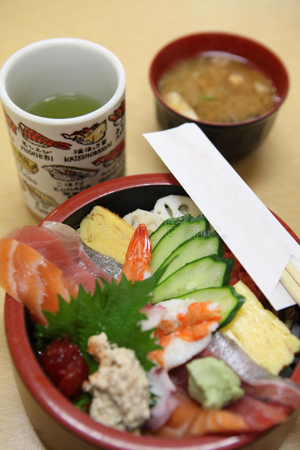 Jogo japonês do sushi imagens de stock royalty free