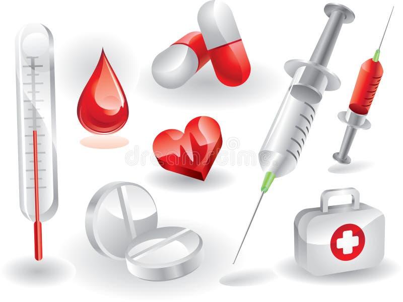 Download Jogo médico ilustração do vetor. Ilustração de medicinal - 12801735