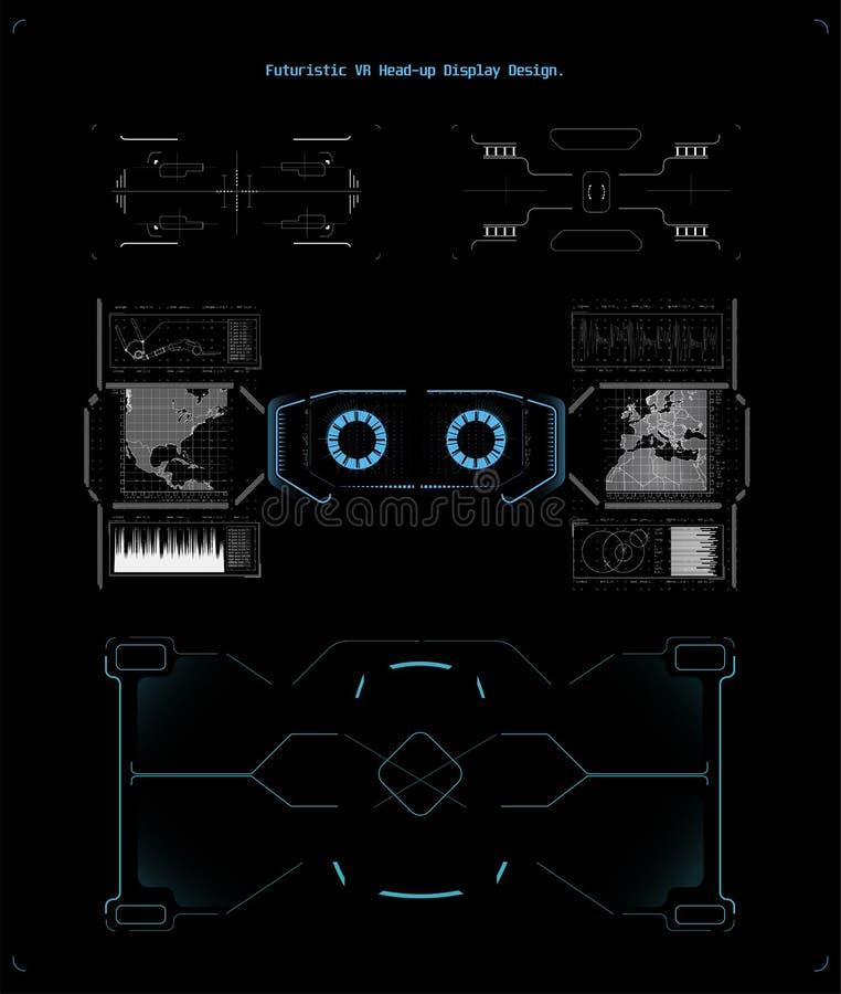 Jogo moderno, grande projeto para algumas finalidades Molde da bandeira da Web ilustração stock