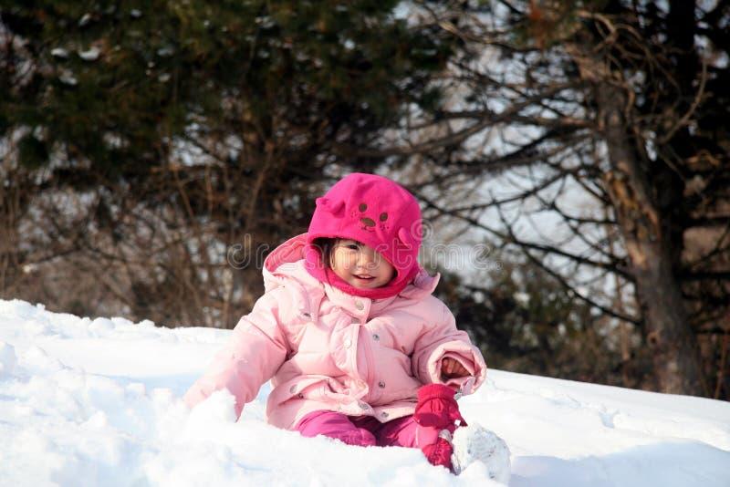 Jogo na neve imagens de stock