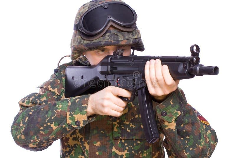 Jogo nos soldados imagens de stock
