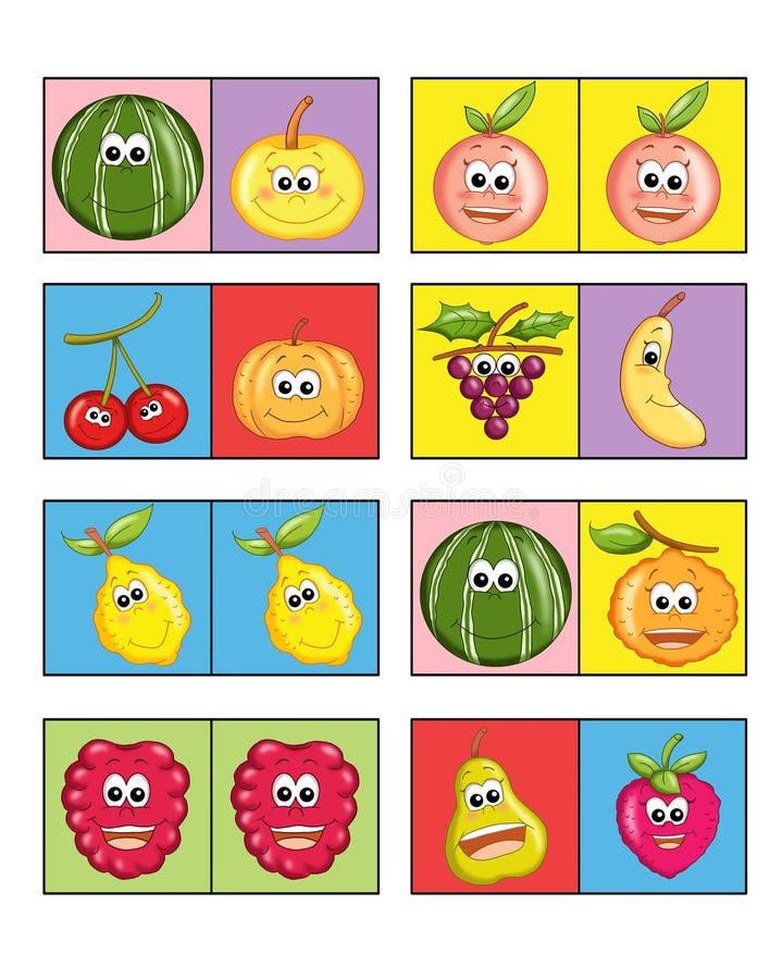 Jogo para as crianças 1 ilustração royalty free