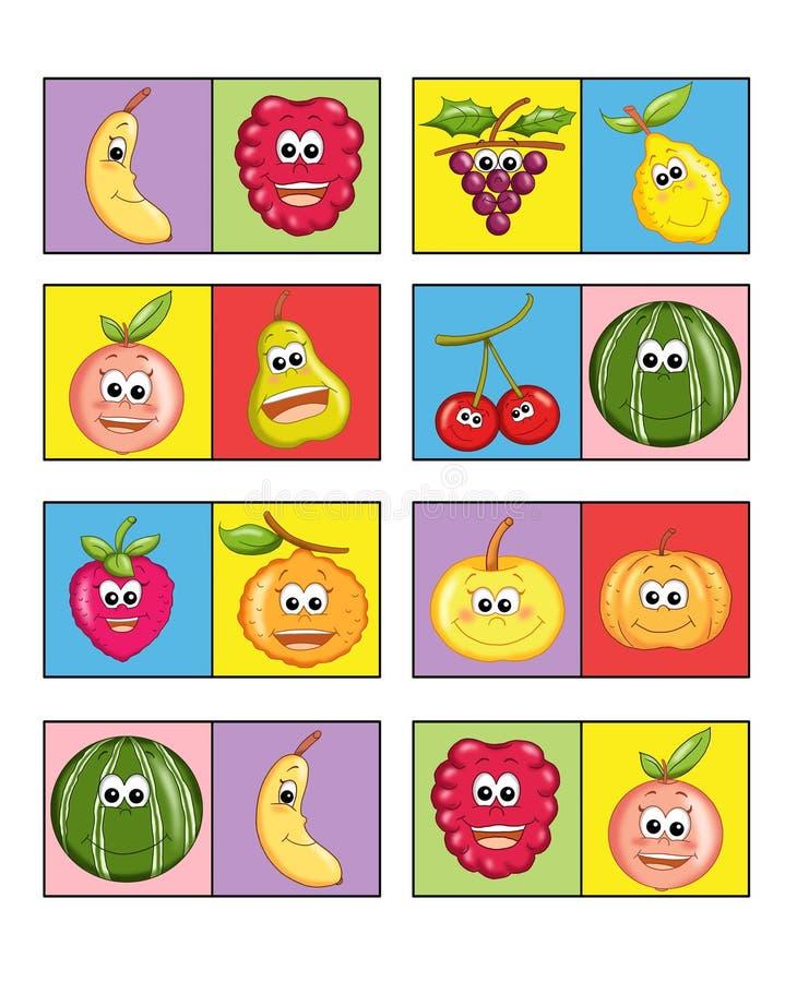 Jogo para as crianças 2 ilustração do vetor