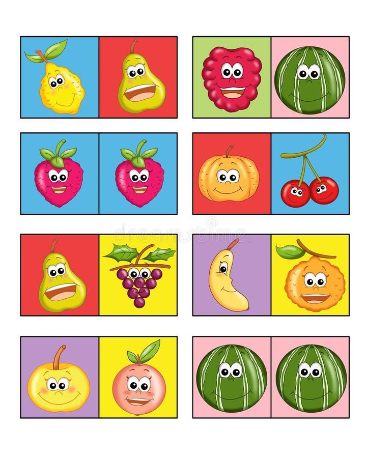 Jogo para as crianças 3 ilustração royalty free