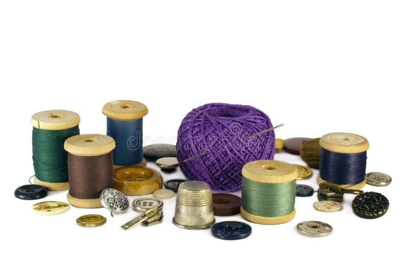 Jogo Sewing imagem de stock