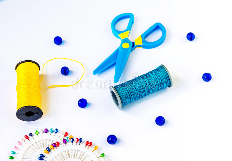 Jogo Sewing fotografia de stock
