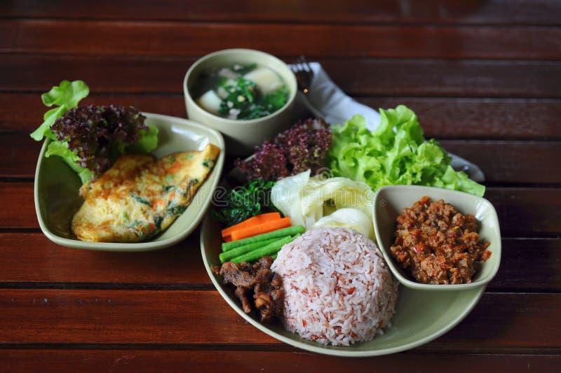 Jogo tailandês do alimento fotos de stock