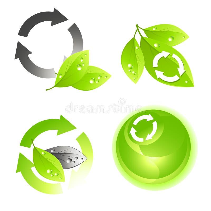 Jogo verde do ícone ilustração do vetor
