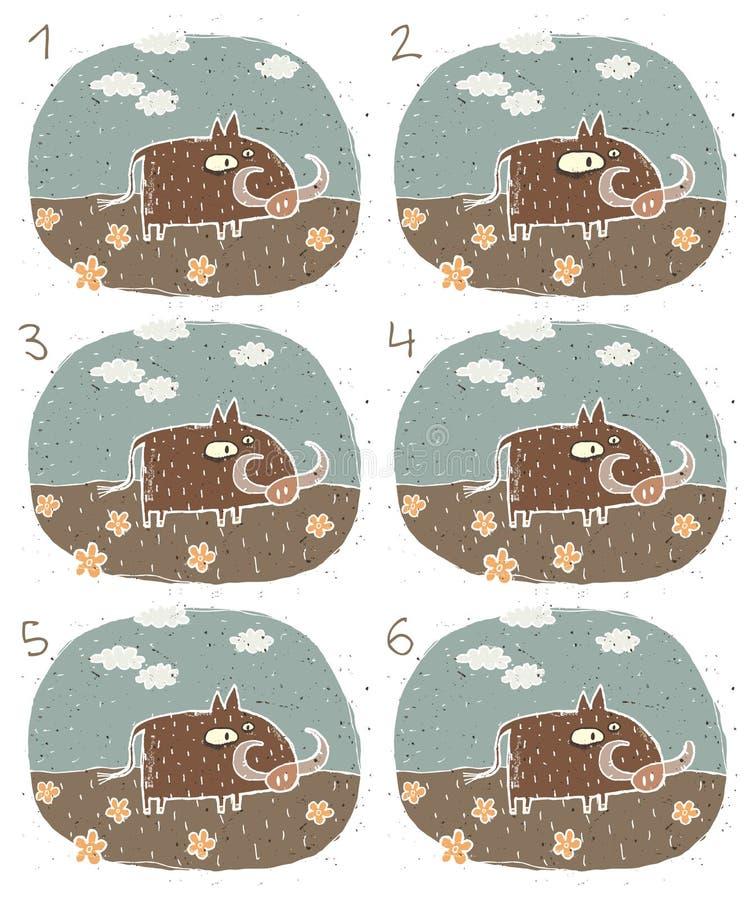 Download Jogo do Visual de Warthog ilustração do vetor. Ilustração de igualmente - 29842020