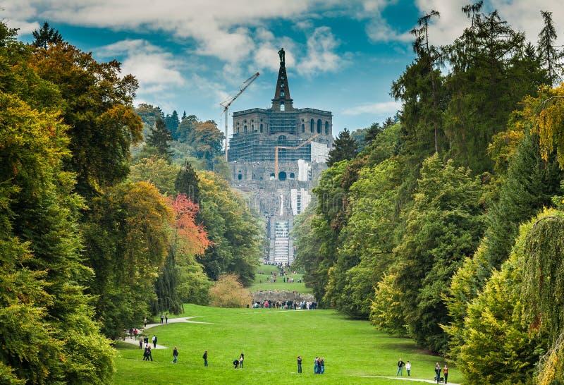 Jogos da água em Kassel fotografia de stock royalty free