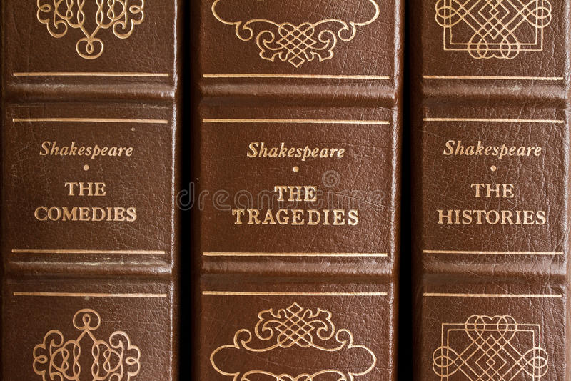 Jogos de Shakespeare foto de stock royalty free