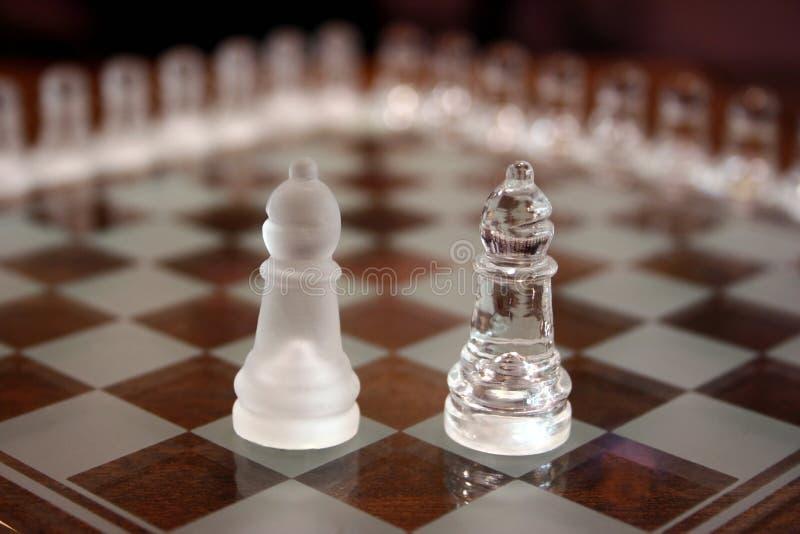 Jogos de xadrez foto de stock