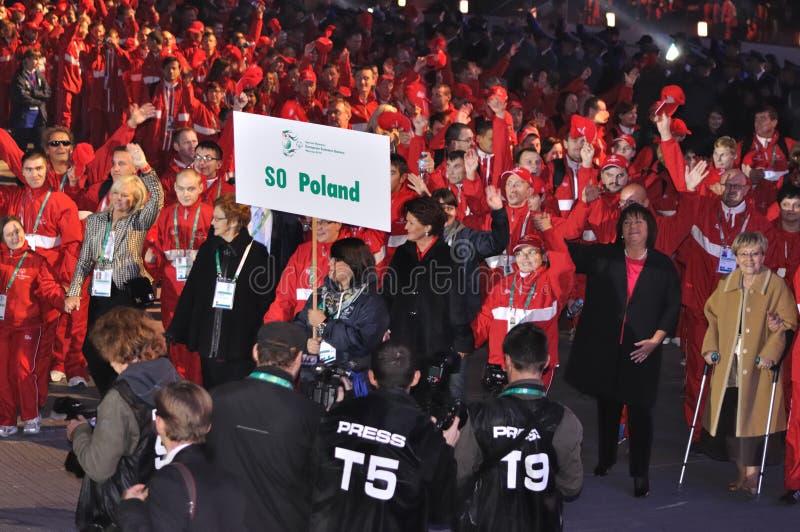 Jogos europeus do verão dos Jogos Paralímpicos imagens de stock royalty free