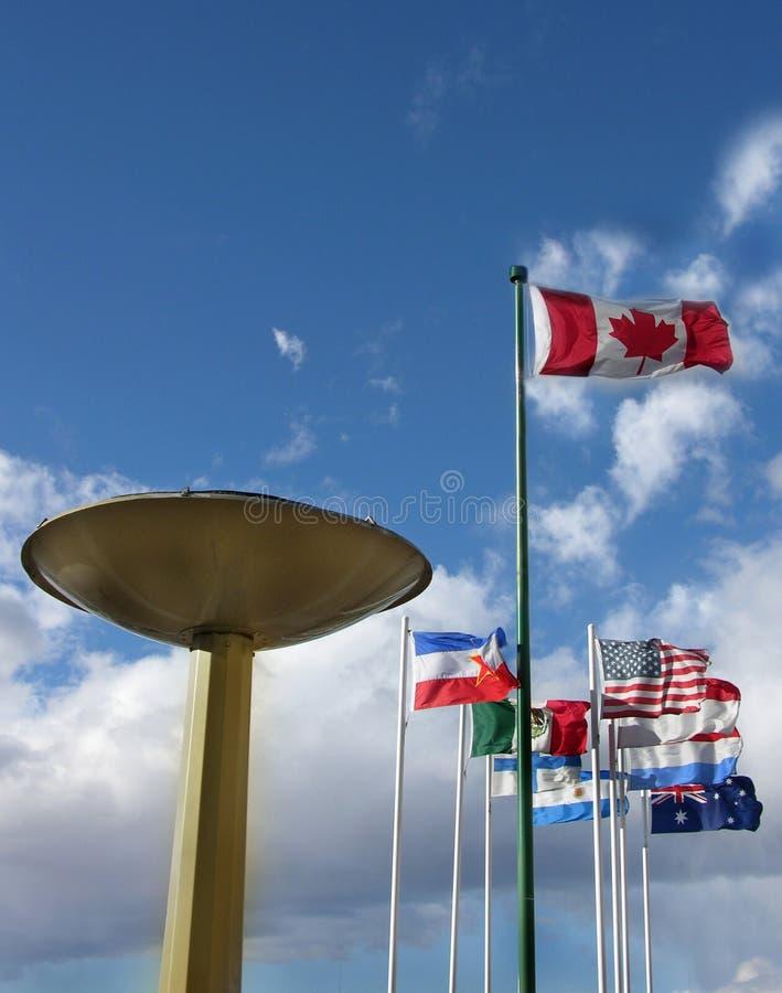 Download Jogos Olímpicos imagem de stock. Imagem de outdoor, nuvens - 105519