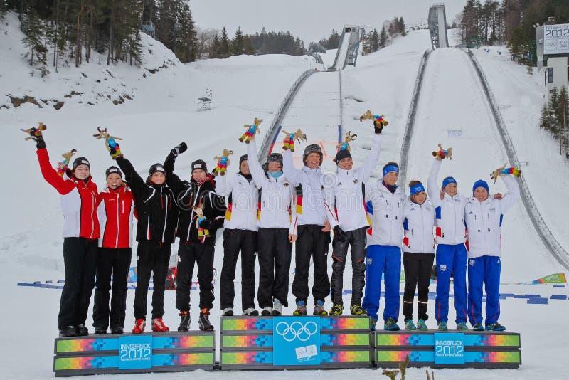 Jogos Olímpicos 2012 da juventude imagens de stock royalty free