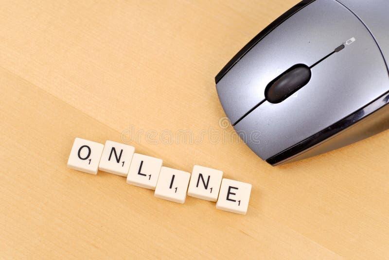 Jogos onlines imagens de stock royalty free